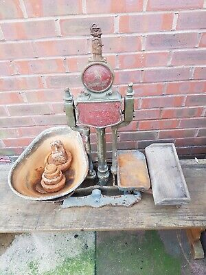 £49.99 • Buy Cast Iron Vintage Antique Grocers/butchers Shop Weighing Scales With Weights