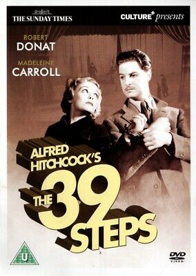 £2.80 • Buy Alfred Hitchcock's The 39 Steps [1935] – The Sunday Times Promo DVD – Region 2