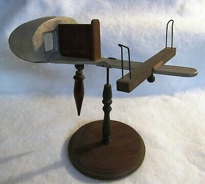 £43.53 • Buy Vintage Holmes Steroscope Base With Aluminum 1900 Exhibition Viewer