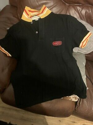 AU42.30 • Buy Gucci Polo Black. Large. In Excellent Condition.