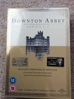 £6.95 • Buy Downtown Abbey TV Series - Season 1-3 DVD Brand New Factory Sealed