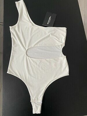 £5 • Buy Pretty Little Thing Body Suit Cut Out Size 8 BNWT