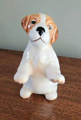 £10 • Buy Vintage Shaw And Copestake Sylvac Sit Up And Beg, Puppy, Circa 1940s Pottery