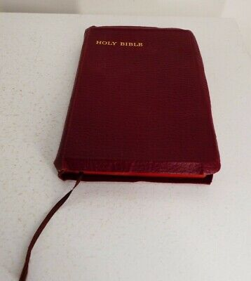 £40 • Buy The Holy Bible-Old & New Testaments//Eyre And Spottiswoode Leather Bound Book J9