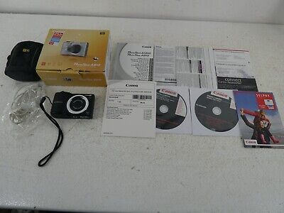 £35 • Buy Canon Powershot A810 Digital Compact Camera With SD Card, Manuals And Box E22