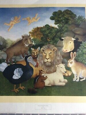 £145 • Buy Beryl Cook Peaceable Kingdom Limited Edition Print