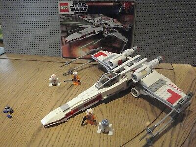 £50 • Buy Lego Star Wars 9493 X-Wing Starfighter (100% Complete)