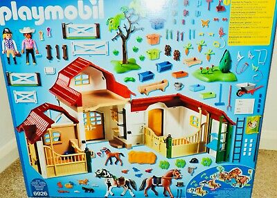 £74.99 • Buy NEW Playmobil Country (6926) LARGE HORSE FARM W/358 Pcs - Many Detailed Accs
