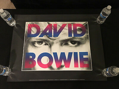 $199.99 • Buy David Bowie Concert Poster-first Printing 1987