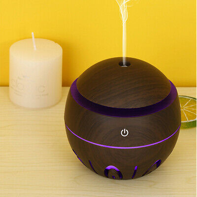 AU8.99 • Buy Aroma Aromatherapy Diffuser LED Essential Oil Ultrasonic Air Humidifier Purifier