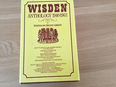 £5 • Buy Wisden Anthology 1940-1963 Edited By Benny Green