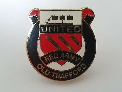 £5.40 • Buy Manchester United Pin Badge Red Army MUFC Man Utd Memorabilia Busby Crest 58