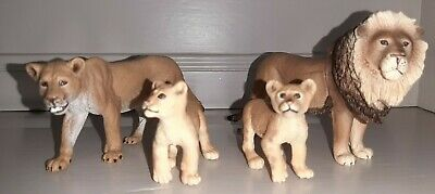 £7.99 • Buy  Bundle / Collection Of 4 Schleich Lion Family