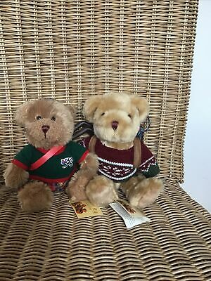£5 • Buy Two Collectors Teddies The Teddy Bear Collection Scotland