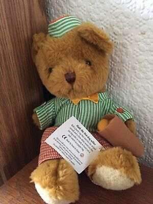 £1 • Buy REDUCED QUICK SALE The Teddy Bear Collection HANK THE HOT DOG SELLER