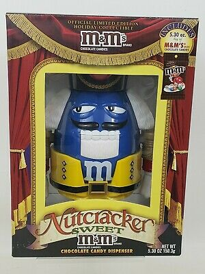 £14.46 • Buy M&M Nutcracker Limited Edition Blue Chocolate Candy Dispenser Official Release