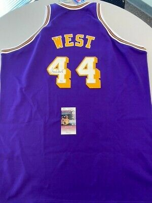 AU250 • Buy Jerry West Signed Mitchell & Ness Authentic Lakers  Jersey JSA COA
