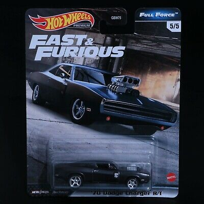 AU14.95 • Buy Hot Wheels - Fast & Furious - '70 Dodge Charger R/T - Premium - Brand New