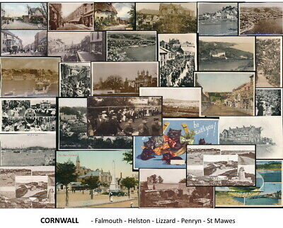 £8 • Buy Cornwall . Falmouth . Helston . Lizard . St Mawes . Penryn Postcards Sold Singly