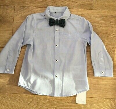 £1.99 • Buy Mothercare Special Occasions Baby Shirt & Bow Tie 9-12 Months New Slight Damage