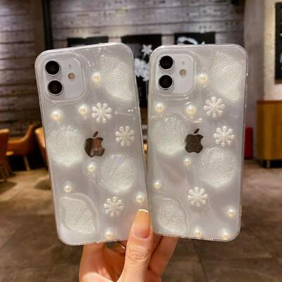 AU6.71 • Buy Glitter Shell Pearl Case For IPhone 13 12 Pro Max 7 8 11 XS XR Soft Phone Cover