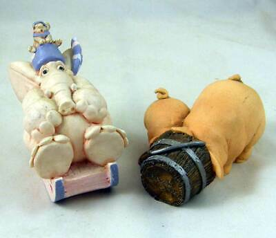 £6 • Buy Vintage 1980s/90s Artefice Elephant And Pigs In A Bucket!