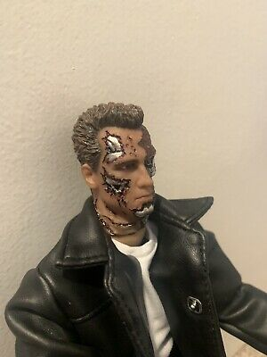 """£45 • Buy 1/6 Scale Terminator T-800 T800 T3 12"""" Figure Arnold Judgment Day"""