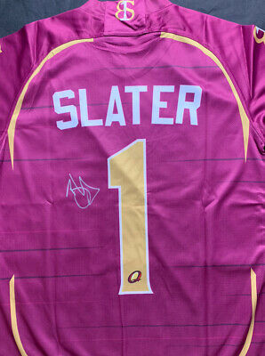 AU0.99 • Buy Billy Slater Signed Queensland Maroons Tribute Jersey 2021