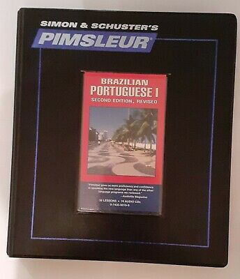£5.99 • Buy PIMSLEUR - Brazilian Portuguese I (Second Edition Revised) - 30 Lessons - 16 CD
