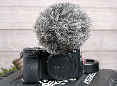 AU798.81 • Buy Sony Alpha A6300 Mirrorless 4K Camera Body With Rode VideoMicro Mic And Case