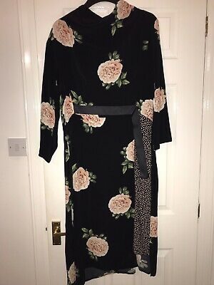 £18 • Buy Nine Savannah Miller Floral Midi Dress Size 16 *new With Tags*