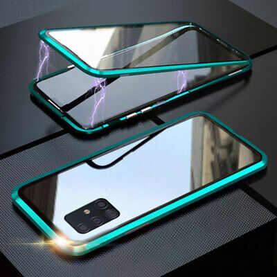 AU31.99 • Buy Double-sided Magnetic 360 Protect Case For Samsung A31 A51 A71 A21s A12 Note20
