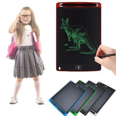AU19.43 • Buy 12/10/8.5inch Writing Tablet Xmas For Kids Electric Drawing Board Pad With Pen