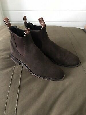 AU300 • Buy RM Williams Craftsman Suede Boots