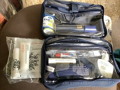 £10 • Buy Vintage Continental Airlines Travel Amenity Kit