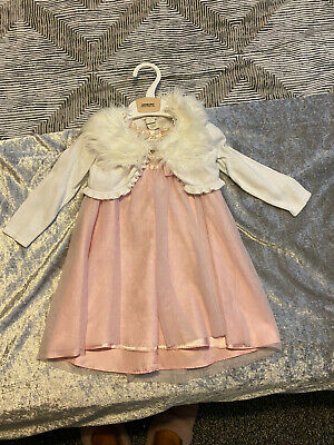 £1.50 • Buy Girls Age 6/12 Months Pretty Dress And Cover Up