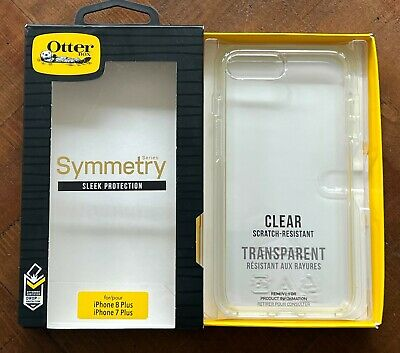 AU13.28 • Buy OtterBox Symmetry Series CLEAR Hard Case For IPhone 8 Plus & 7 Plus ~ NEW IN BOX