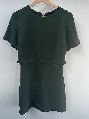 £2.50 • Buy Topshop Green Dress Small 10 But Would Fit 8