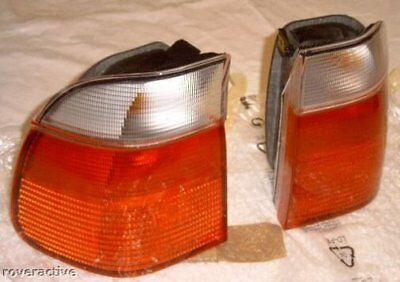 $349.95 • Buy BMW OEM E39 5 Series Touring 1997-2000 Clear Outer Taillight Pair Brand New