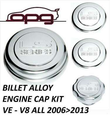 AU74 • Buy Alloy Billet Engine Cap Kit For Holden HSV VE V8 6.0L G8 Pontiac G8 2006 > 2013