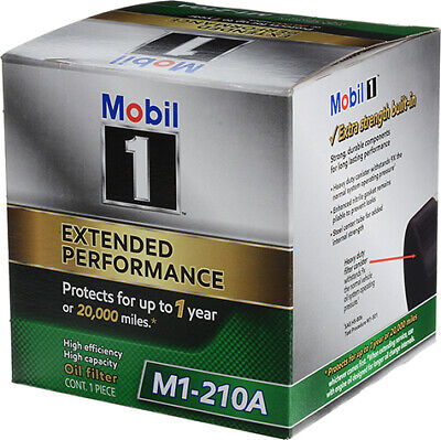 AU25.88 • Buy M1-210A Mobil 1 EP Oil Filter Protects Up To 1 Year Or 32000 KM HP2010 Z516