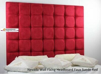 £115 • Buy Nevada Wall Fixing High Headboard All Sizes & Colours