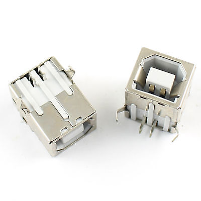 $2.49 • Buy 5Pcs USB 2.0 Female B Type 4 Pin Right Angle PCB Connector For Printer Port
