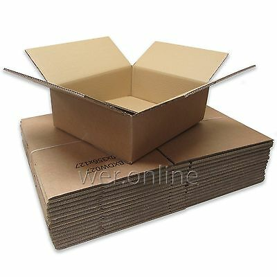 STRONG Heavy Duty Laptop Postal Mailing Cardboard Boxes 16½ X 14 X 5 *FAST* • 21.81£