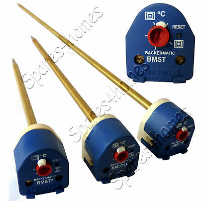 7  11  And 18  Immersion Heater Thermostat With Reset Backer BEAB Approved • 17.54£