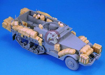 $49.45 • Buy Legend 1/35 US M3A1 Half-track Stowage And Accessories Set WWII [Resin] LF1190
