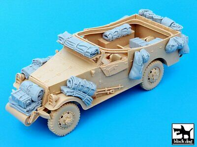 $33.96 • Buy Black Dog 1/35 US M3A1 Scout Car Stowage & Accessories WWII (Hobby Boss) T35049