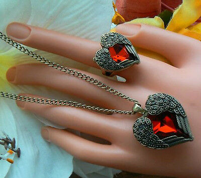 AU12.90 • Buy Valentines Day Romantic Gift For Her Girlfriend Angel Wing Necklace Only