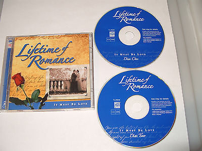 £5.39 • Buy LIFETIME OF ROMANCE IT MUST BE LOVE- 2 Cd 32 TRACKS TIME LIFE MUSIC-2004