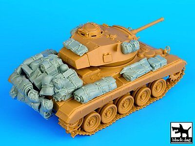 $32.98 • Buy Black Dog 1/35 M24 Chaffee Tank Accessories Set WWII (for Bronco Kit) T35070